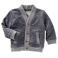 Baby Boy OshKosh B'gosh® Marled French Terry Cardigan