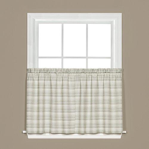 Saturday Knight, Ltd. Marina Tier Kitchen Window Curtain Set
