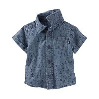 Baby Boy OshKosh B'gosh® Anchor Chambray Shirt