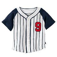 Baby Boy Carter's Striped Baseball Shirt