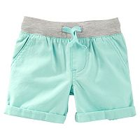 Toddler Boy OshKosh B'gosh® Canvas Pull-On Woven Shorts