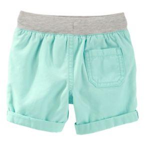 Toddler Boy OshKosh B'gosh® Canvas Pull-On Woven Shorts