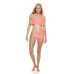 Juniors' Malibu Medallion Hipster Bikini Bottoms