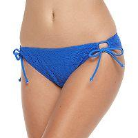 Juniors' Malibu Medallion Hipster Bikini Bottoms
