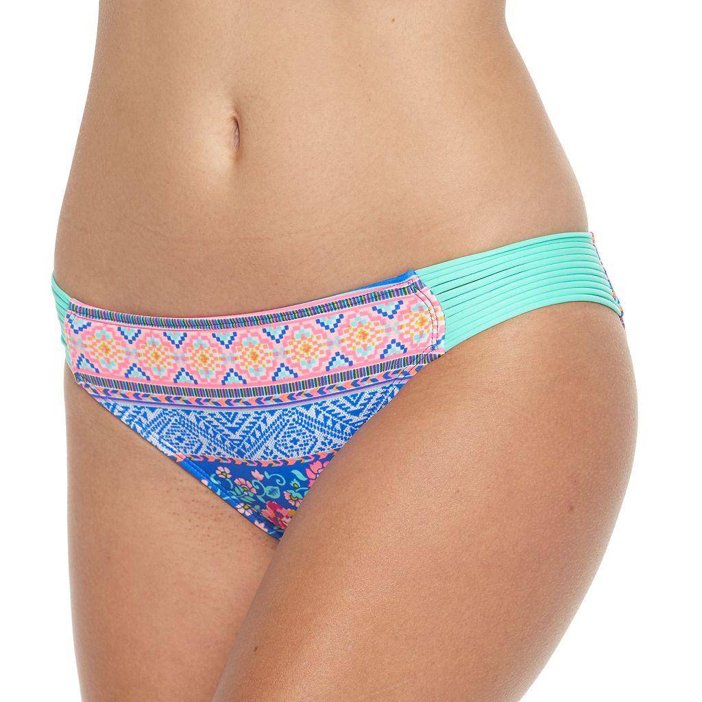 Juniors' Malibu Strappy Hipster Bikini Bottoms