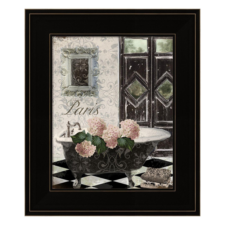 sc 1 st  Kohlu0027s & Le Bain Hydrangea Framed Wall Art
