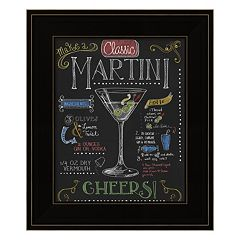 'Martini' Framed Wall Art