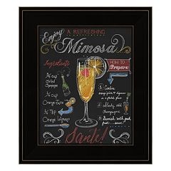 'Mimosa' Framed Wall Art