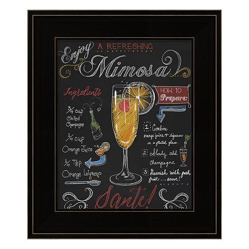 """""""Mimosa"""" Framed Wall Art"""
