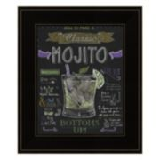 """Mojito"" Framed Wall Art"