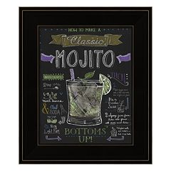 'Mojito' Framed Wall Art