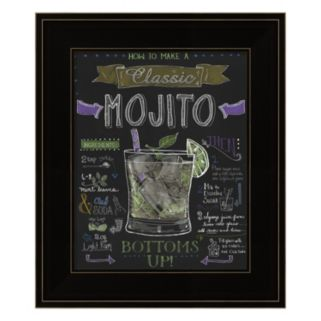"""Mojito"" Framed Wall Art"