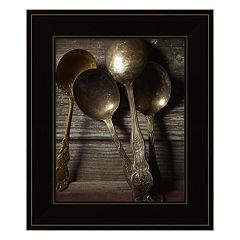 Spoons Framed Wall Art