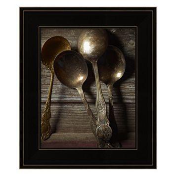 Spoons Framed Wall Art