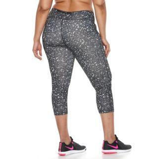 Plus Size Nike Dri-FIT Essential Crop Capri Leggings