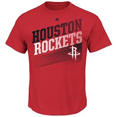 Men's Majestic Houston Rockets Winning Tactic Tee
