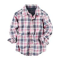 Baby Boy Carter's Plaid Shirt