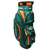 Team Golf Miami Hurricanes Clubhouse Golf Cart Bag