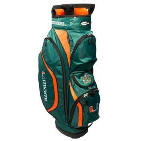 Team Golf Miami Hurricanes Clubhouse Golf Cart Bag