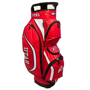 Team Golf Utah Utes Clubhouse Golf Cart Bag