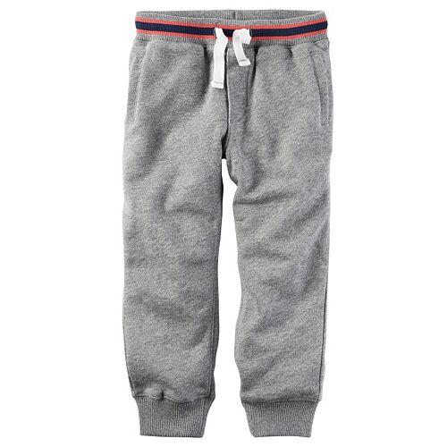 Toddler Boys Carter's Solid Jogger Pants