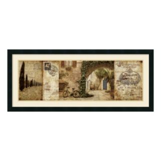 Amanti Art Tuscan Courtyard Framed Wall Art