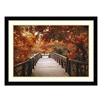 Amanti Art Footbridge Framed Wall Art