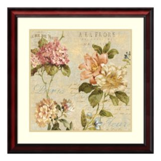 Amanti Art Fleur Paris I Framed Wall Art