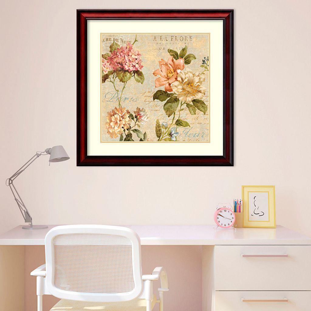 Amanti Art Fleur Paris I Framed Wall Art