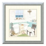 Amanti Art Seaside Spa I Framed Wall Art