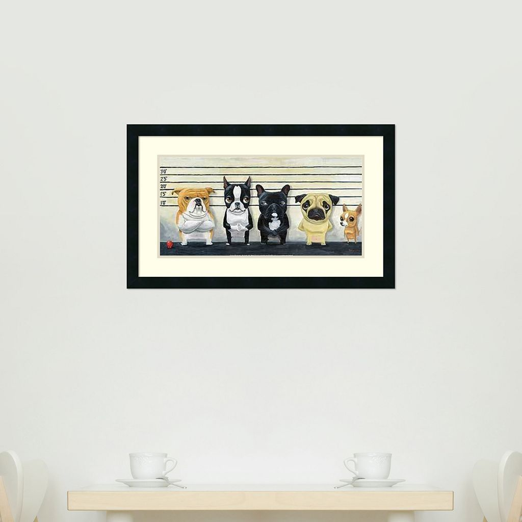 Amanti Art The Lineup Framed Wall Art