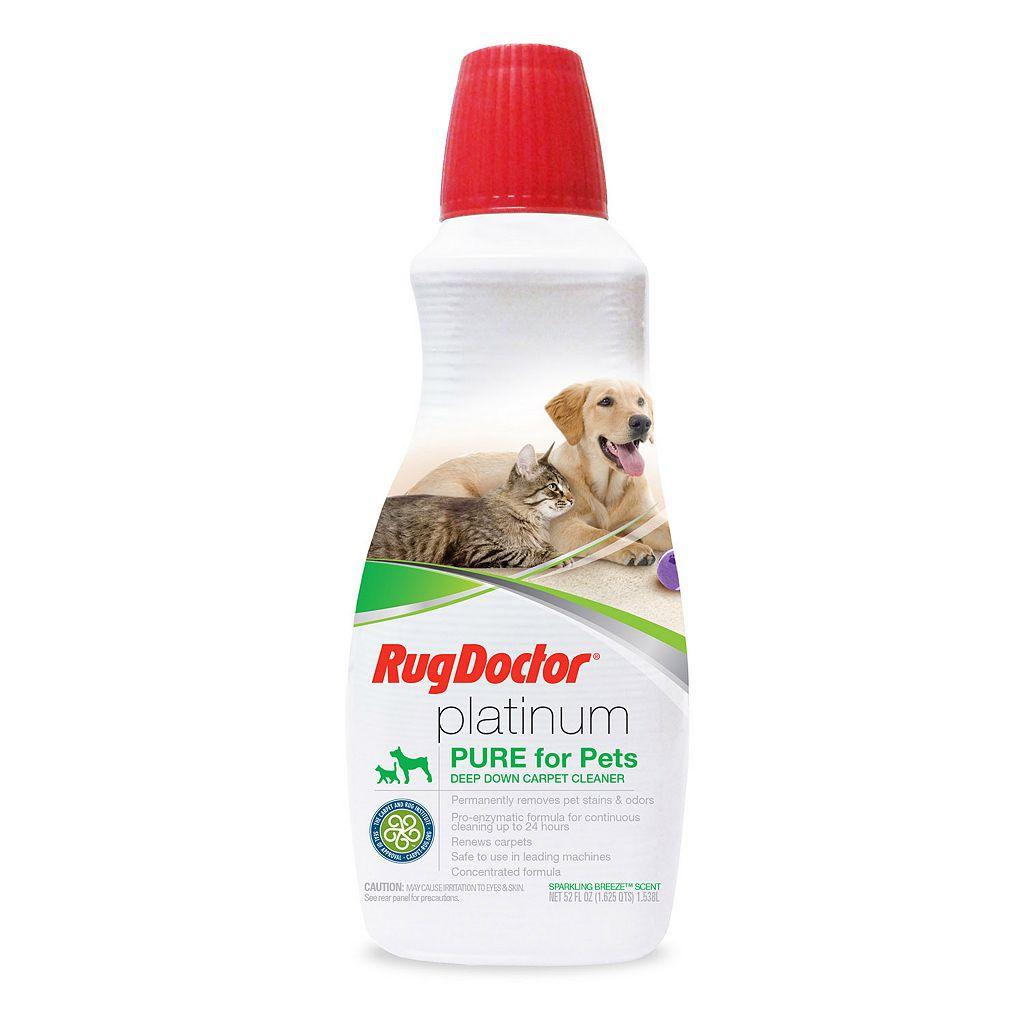 Rug Doctor Platinum Pet Carpet Cleaner (52 Ounces)