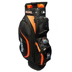 Team Golf Miami Marlins Clubhouse Golf Cart Bag