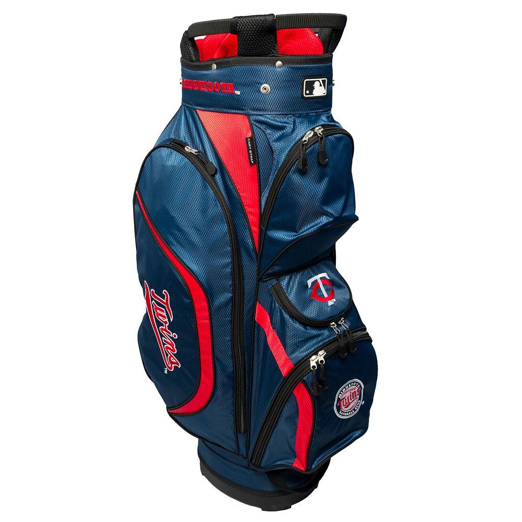 Team Golf Minnesota Twins Clubhouse Golf Cart Bag