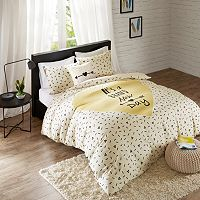 HipStyle 4 pc Beckham Duvet Cover Set