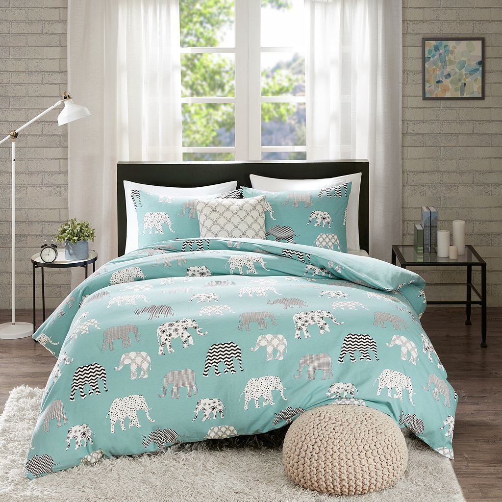 HipStyle 4-piece Henry Duvet Cover Set
