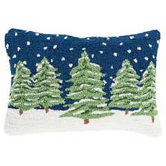 Decor 140 Holiday Hooked Oblong Throw Pillow Cover - 13'' x 19''