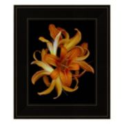 Day Lilies Framed Wall Art