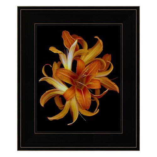 Day Lilies Framed Wall Art