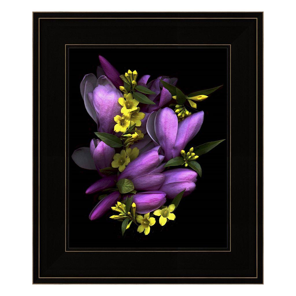 Tulip Magnolia & Jasmine Framed Wall Art