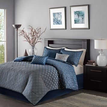 Madison Park 6-piece Morris Duvet Cover Set