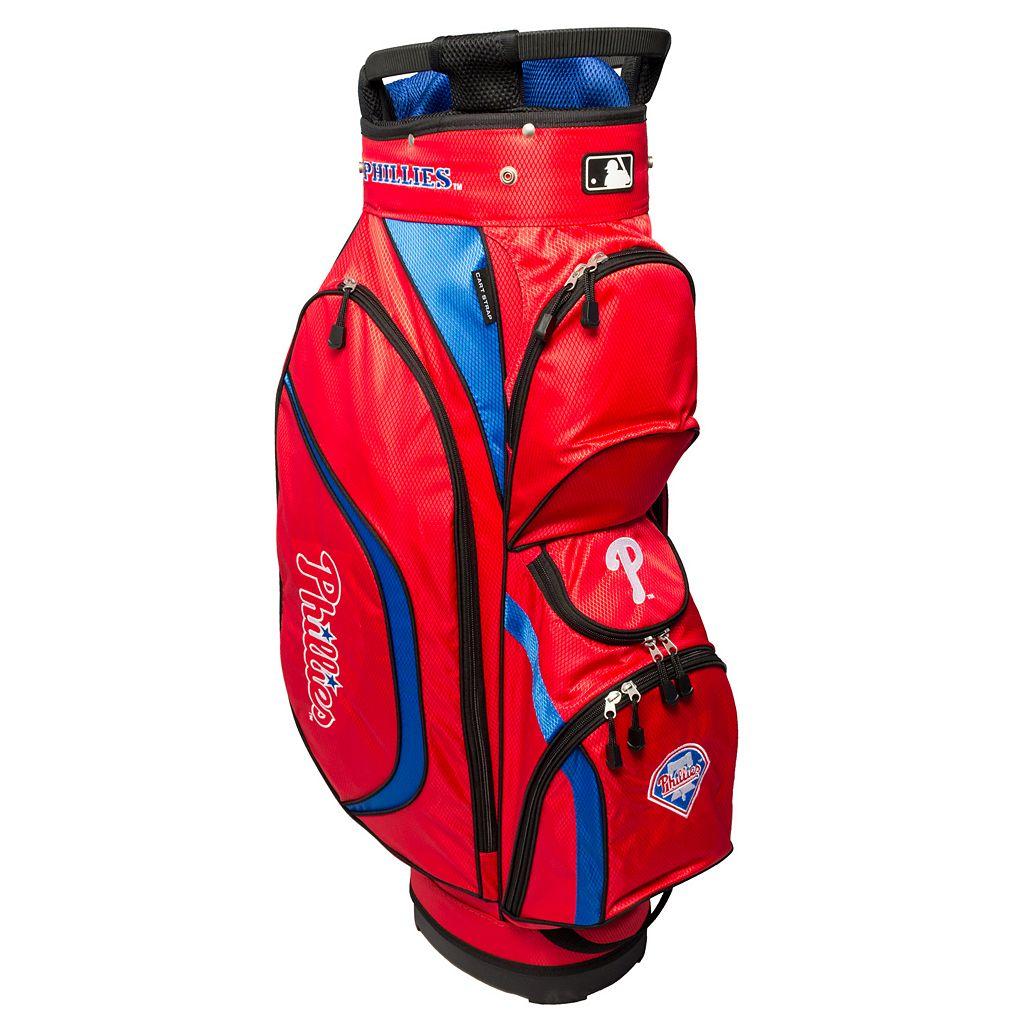 Team Golf Philadelphia Phillies Clubhouse Golf Cart Bag