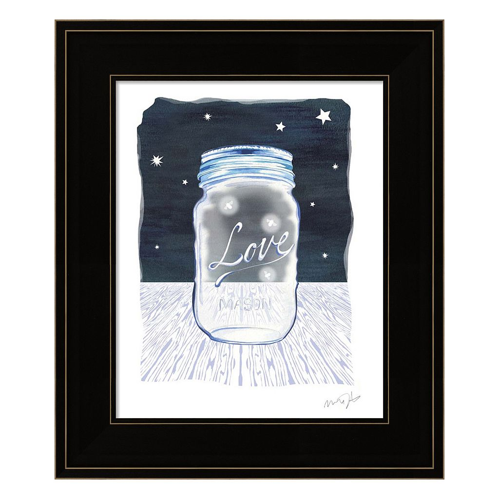 Jane Mason Jar Framed Wall Art