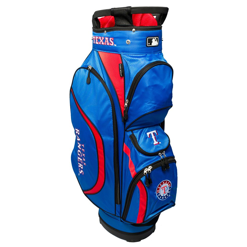 Team Golf Texas Rangers Clubhouse Golf Cart Bag