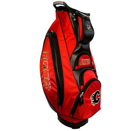 Team Golf Calgary Flames Victory Golf Cart Bag