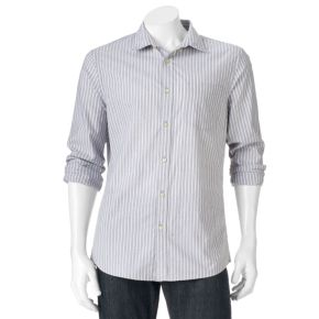 Big & Tall SONOMA Goods for Life™ Modern-Fit Poplin Button-Down Shirt