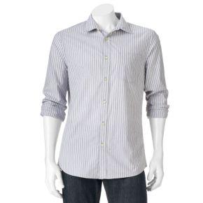 Big & Tall SONOMA Goods for Life? Modern-Fit Poplin Button-Down Shirt