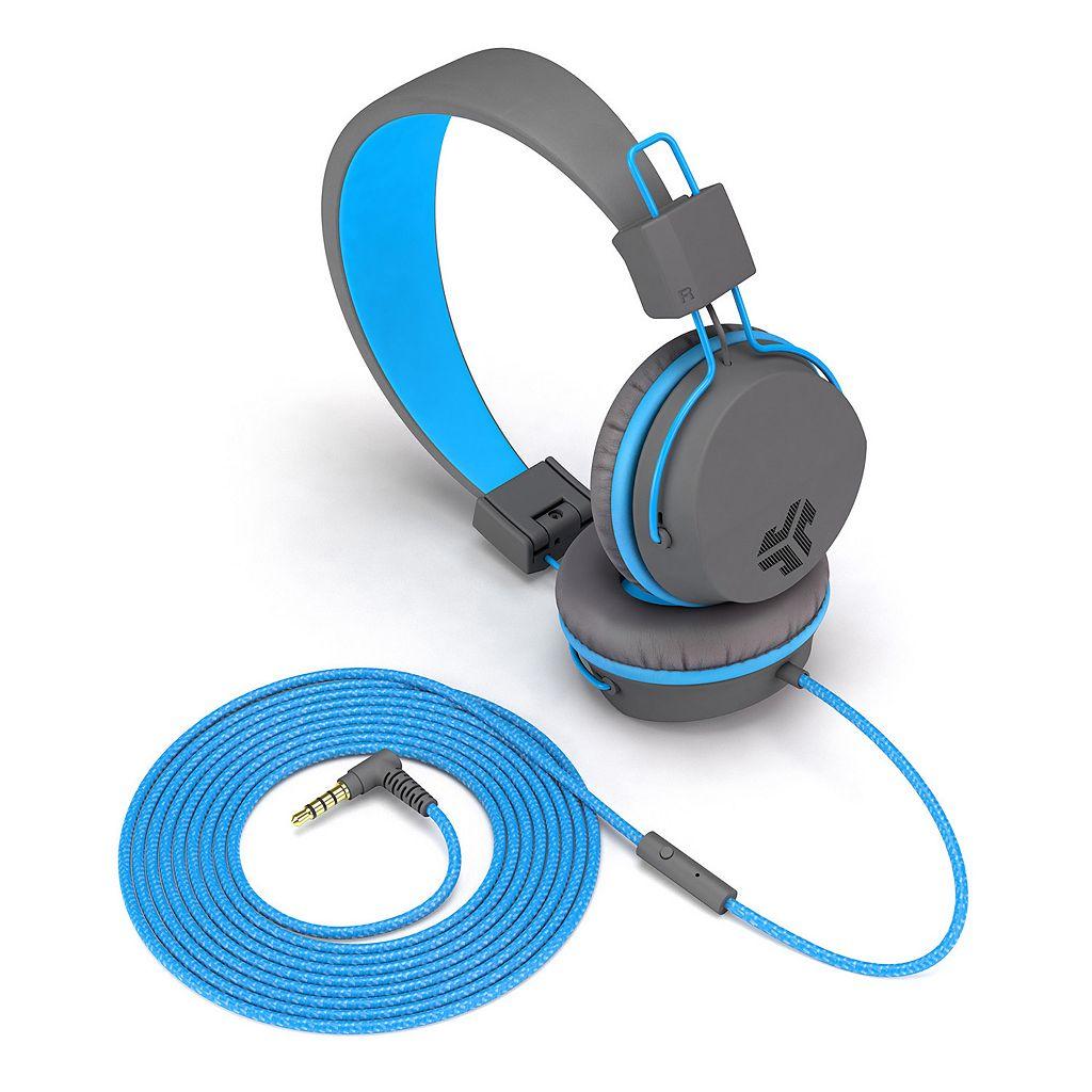 JLab Neon On-Ear Headphones with Universal Mic
