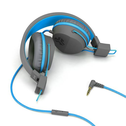 JLab Neon On-Ear Headphones with Universal Mic