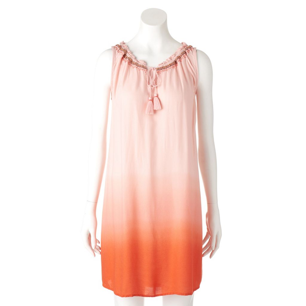 Women's SONOMA Goods for Life™ Dip-Dyed Shift Dress
